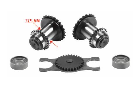 Трещетки суппорта (MCK1102/N) MAN 37.5mm L photo