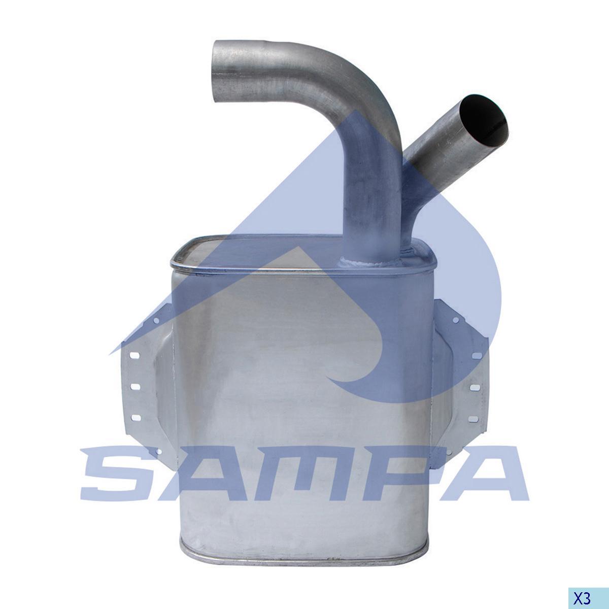 Глушитель Atego 2 photo
