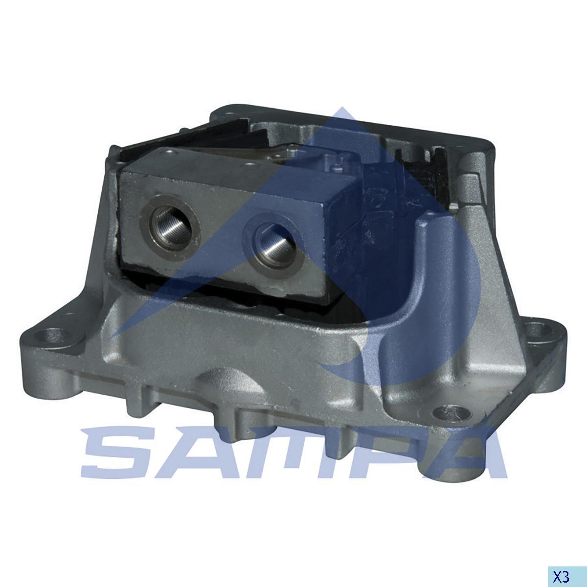 Подушка двигателя ACTROS Euro 5-задние photo