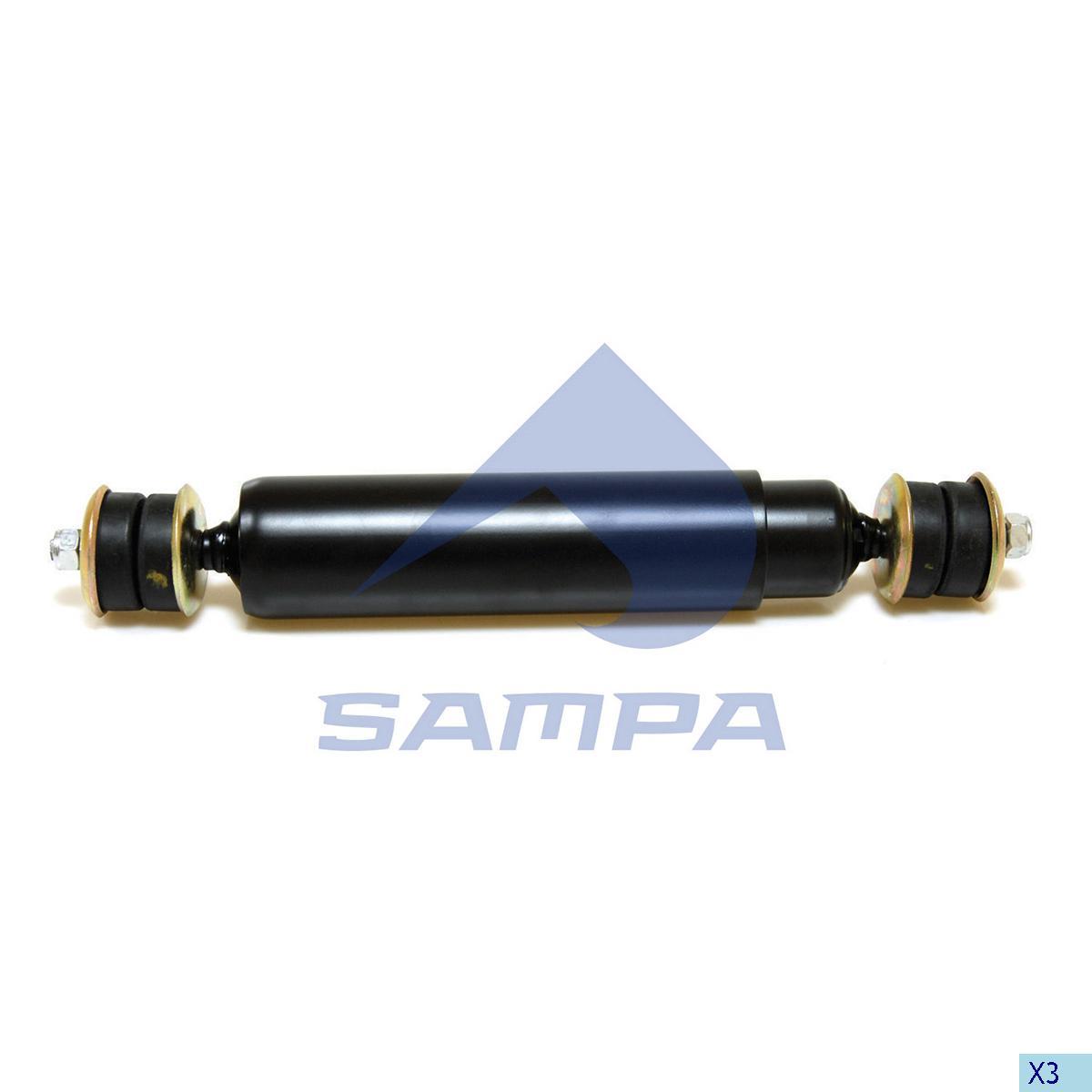 Аммортизатор передний MAN (407-700) ш/ш F2000 (890661) photo