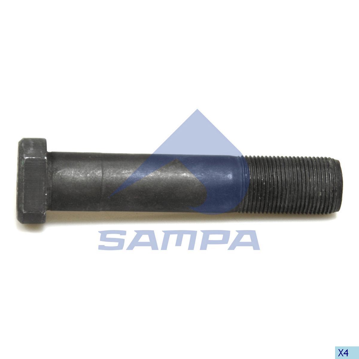 Шпилька ступицы Actros/MAN М22х1,5х110мм photo