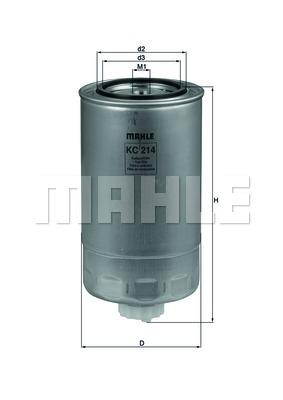 Фильтр топливный Iveco (Mahle) photo