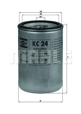 Фильтр топливный RENAULT C-serie (Mahle) = KC102 photo