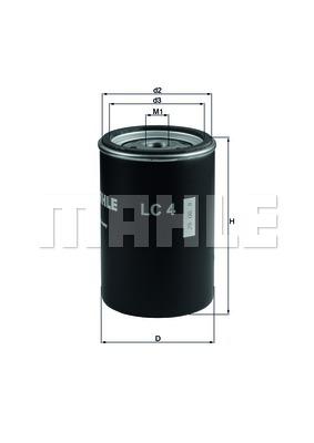 Фильтр Adblu DAF 105XF (металический) (Mahle) photo