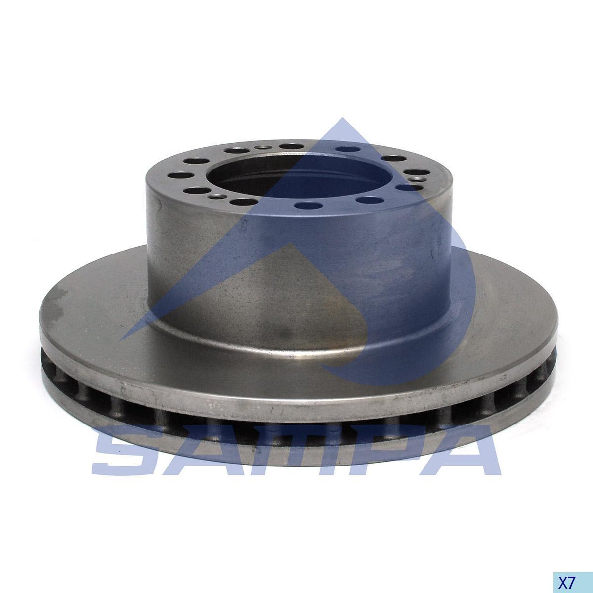 Тормозной диск SAF 377х45/12мм (960371) photo
