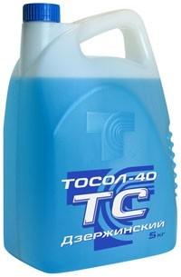 Антифриз Синий 5 кг DacAuto (Тосол ) photo