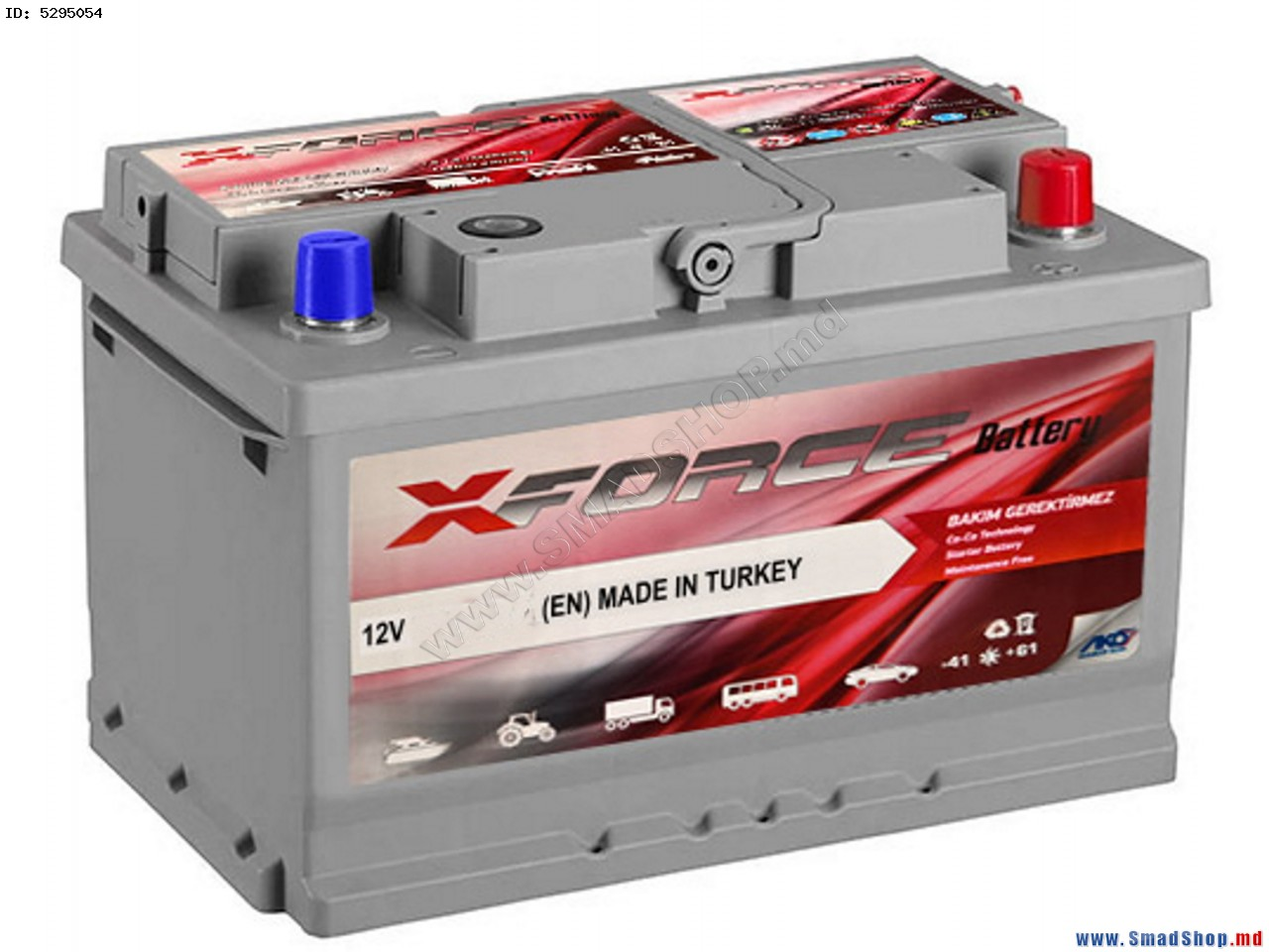 Аккумулятор 12V 60Ah Xforce photo