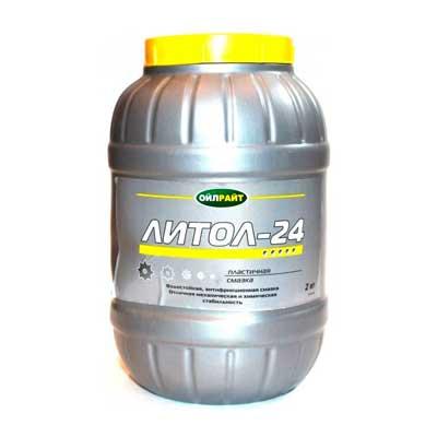 Lubrifiant Litol-24 2 kg photo