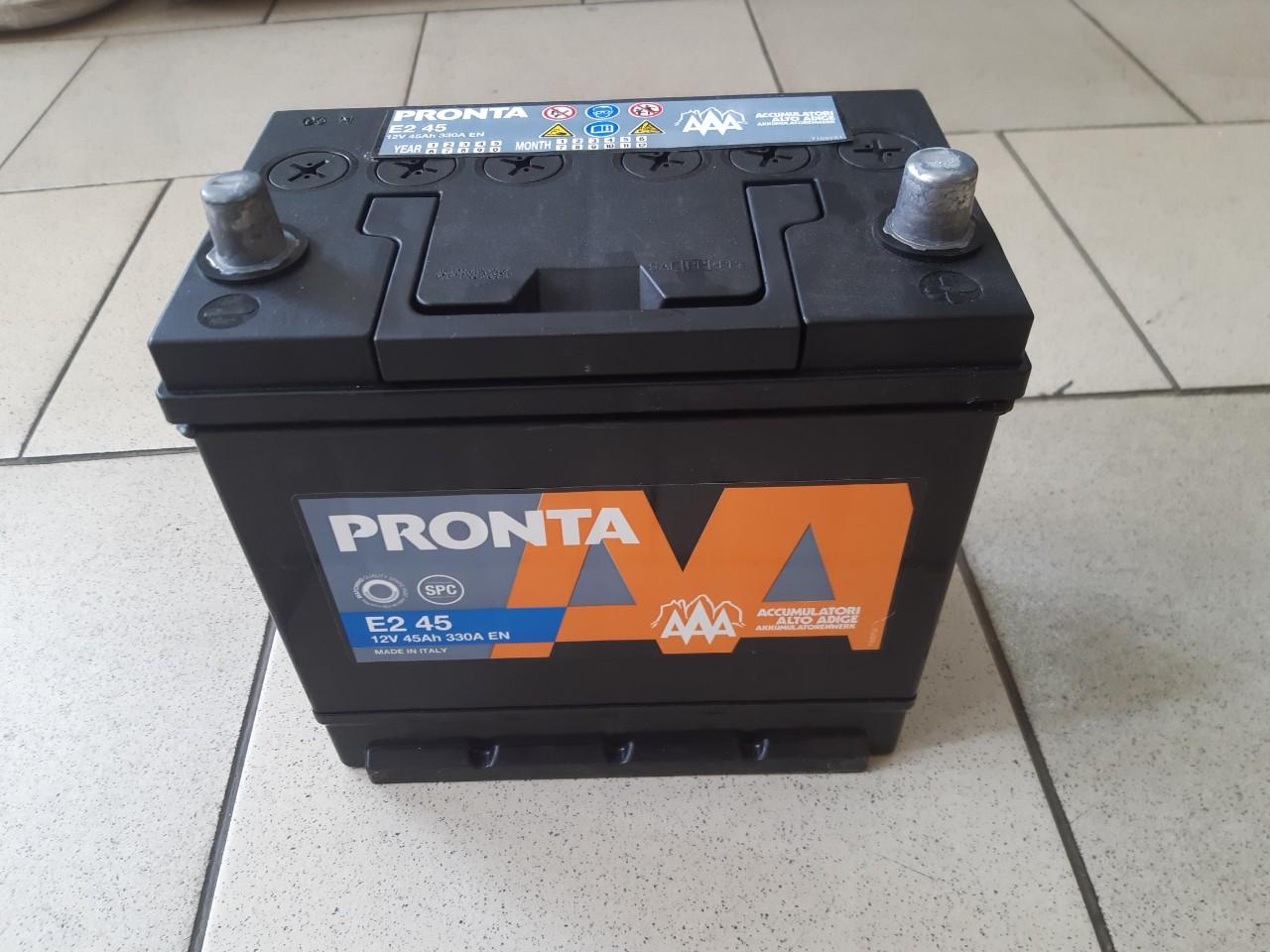 Acumulator 12V 45Ah (360 EN) AAA (-   +)  asia photo