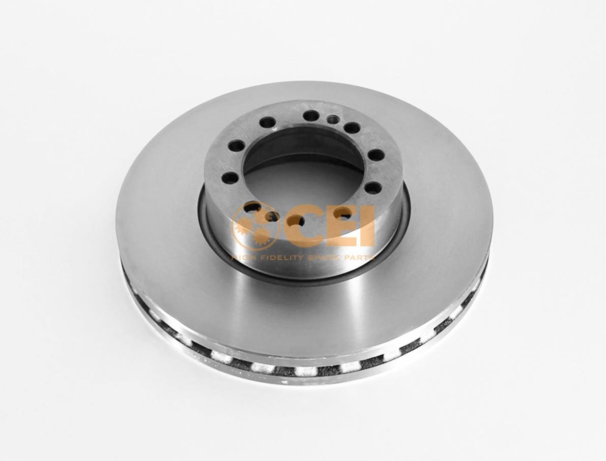 Тормозной диск DAF LF55 375x45/10 photo