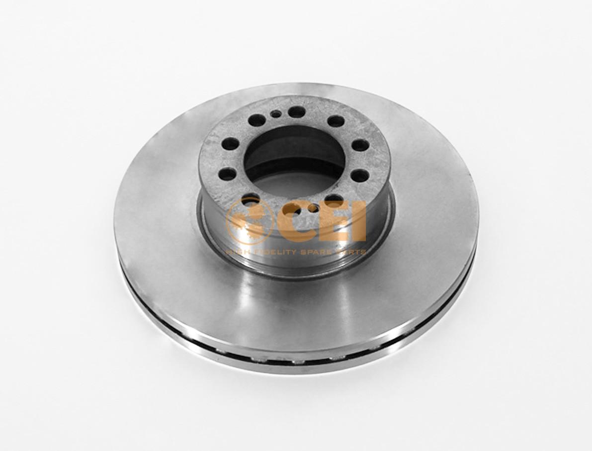 Тормозной диск MAN TGL 335x34/10 photo