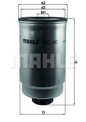 Фильтр топливный Ford Tranzit 2.5 D photo