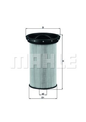 Фильтр топливный BMW 318/320D/TD  98- photo