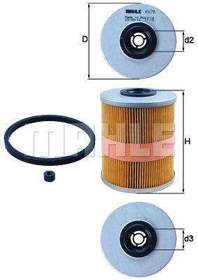 Фильтр топливный Opel Astra II 2.0TD 16V (Eng. X20DTL) photo