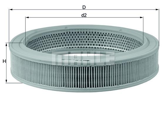 Фильтр воздушный VW GOLF III 1,4 I Audi 80 1.3/1.6/1.8/1.9/100/ photo