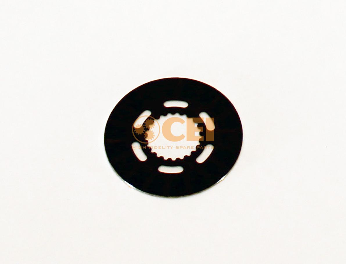 Тормозной диск промвала кпп as-tronic (большие) photo
