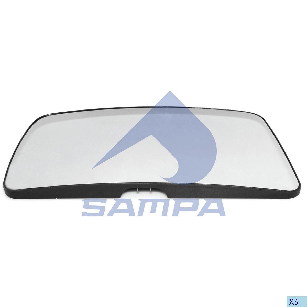 Стекло зеркала Actros Euro 5 с подогревом photo