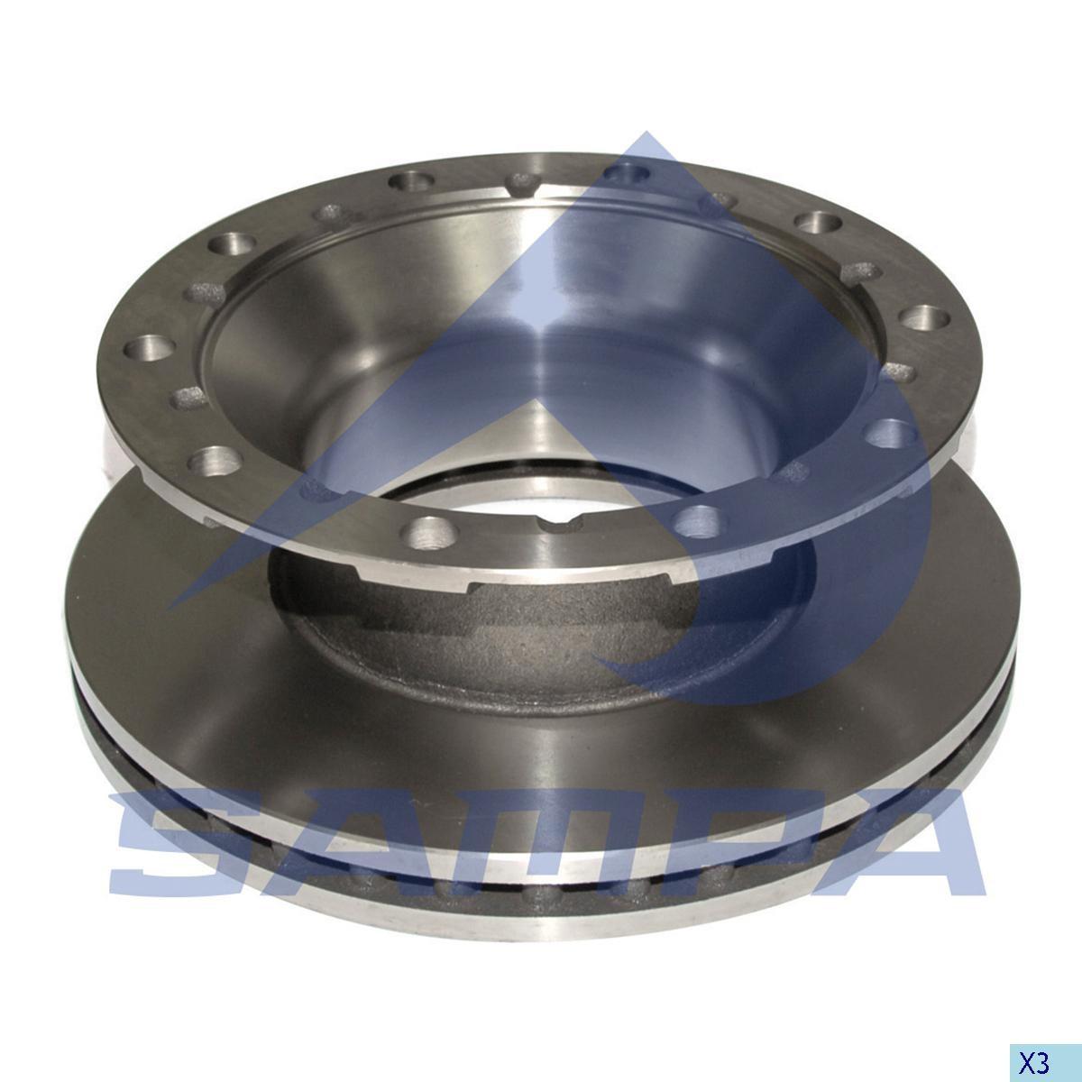 Disc frina ВPW 430х45/10 D=200 (960571) photo