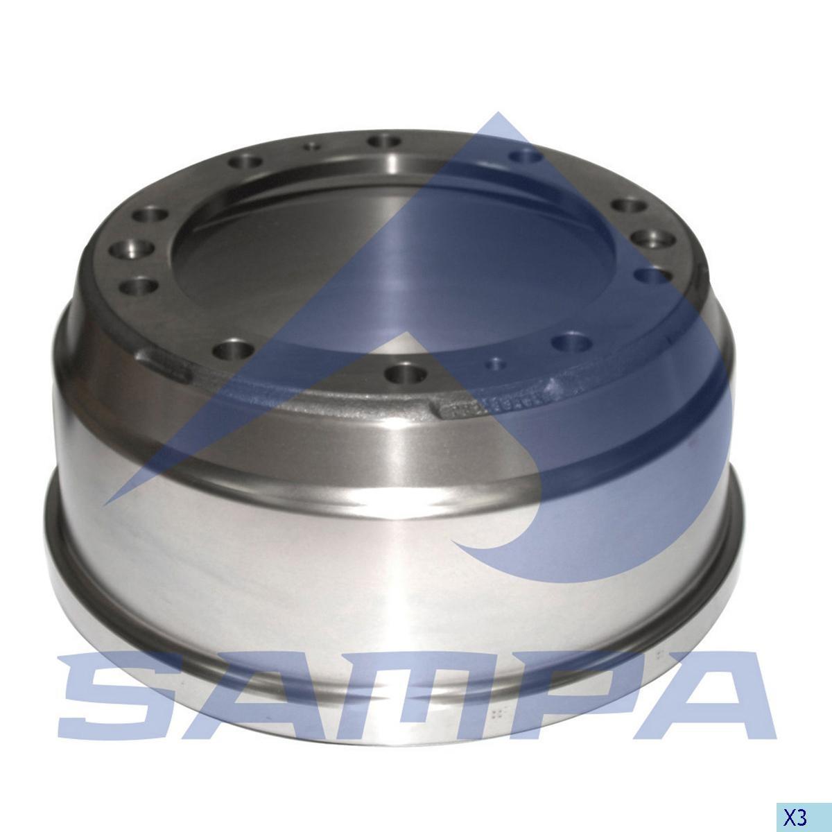 Барабан тормозной DAF пер 420х150 Н=228мм (284620) photo