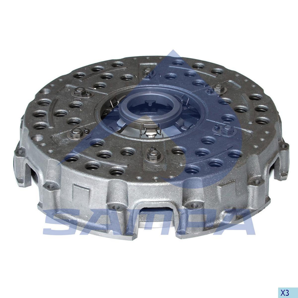 Нажимной диск MB 420 мм photo