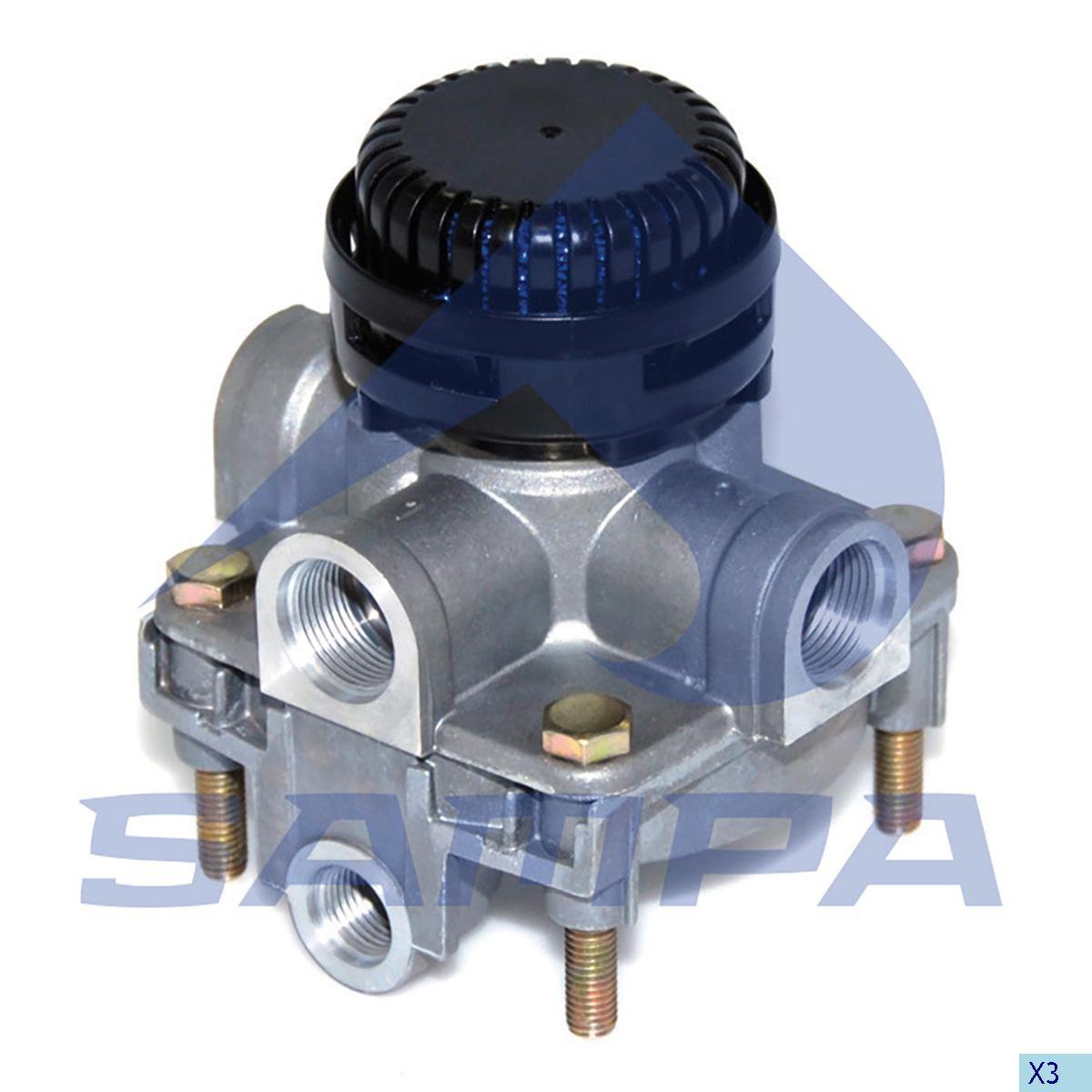 Ускорительный клапан DAF 95/105 XF (W9730110400) photo