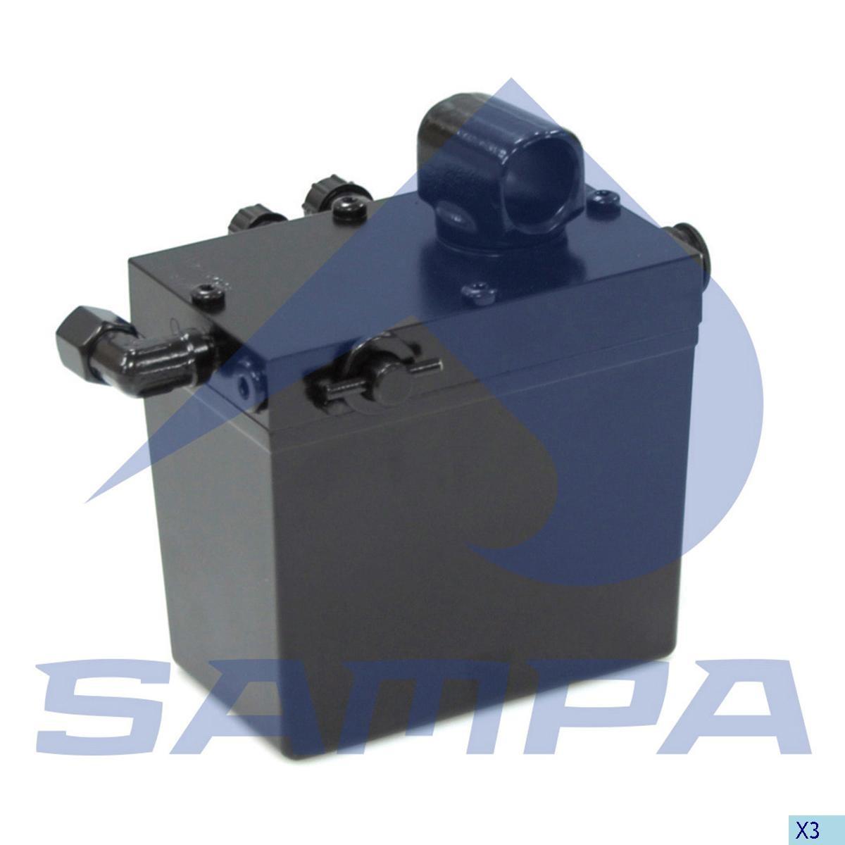 Pompa basculare cabina DAF photo