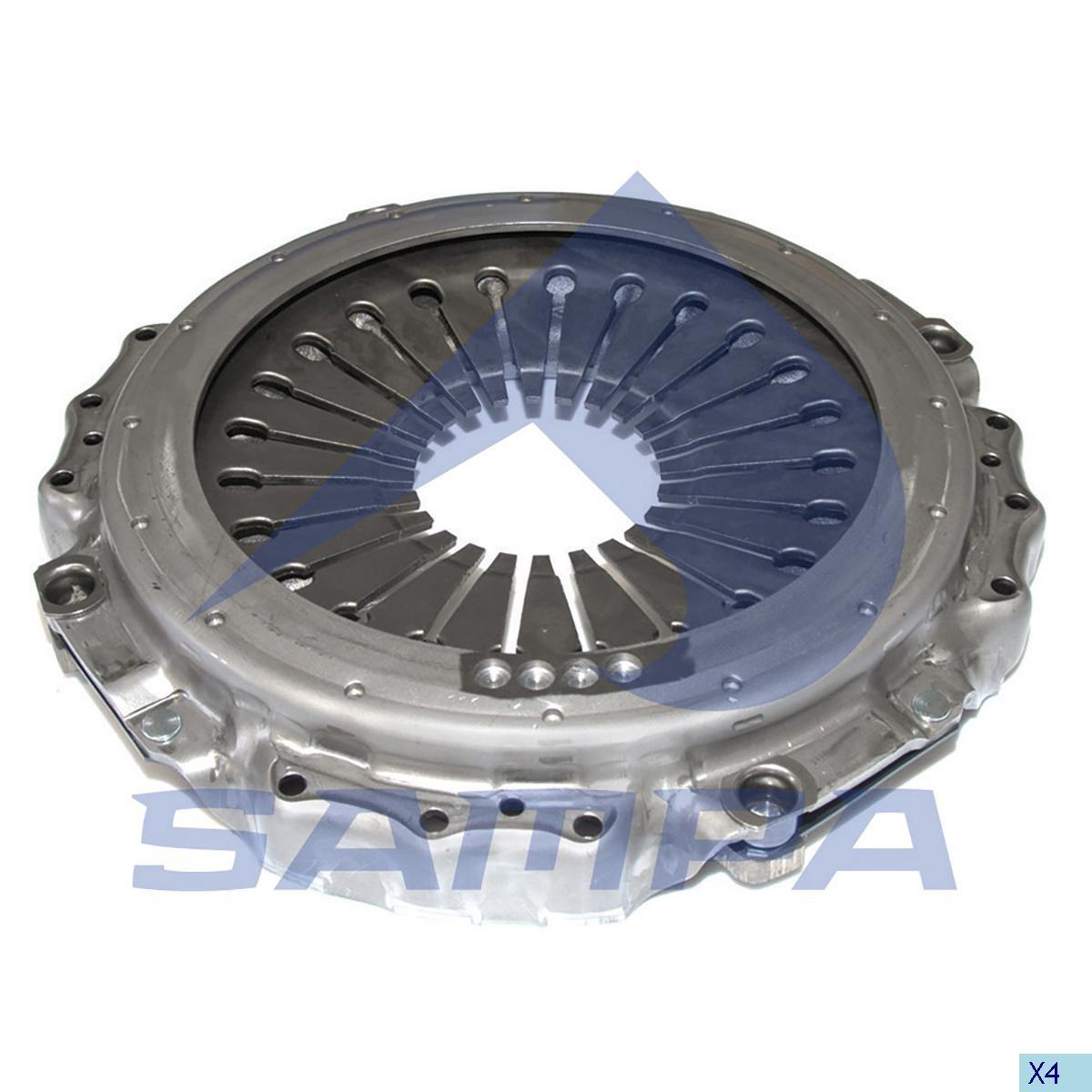 Нажимной диск Scania (430mm) (Sachs) photo