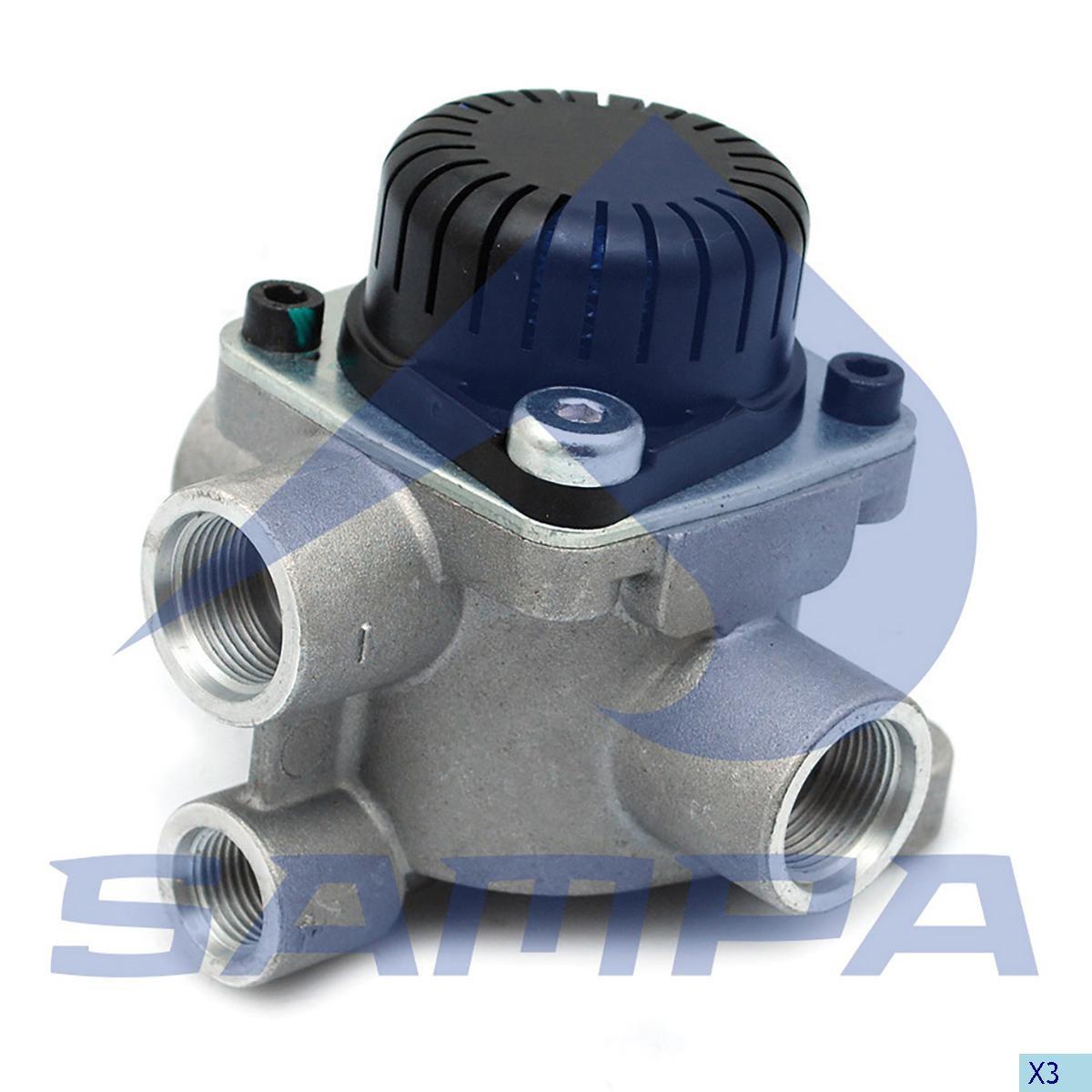 Ускорительный клапан Wabco 9730060030 Actros/Man TGA photo