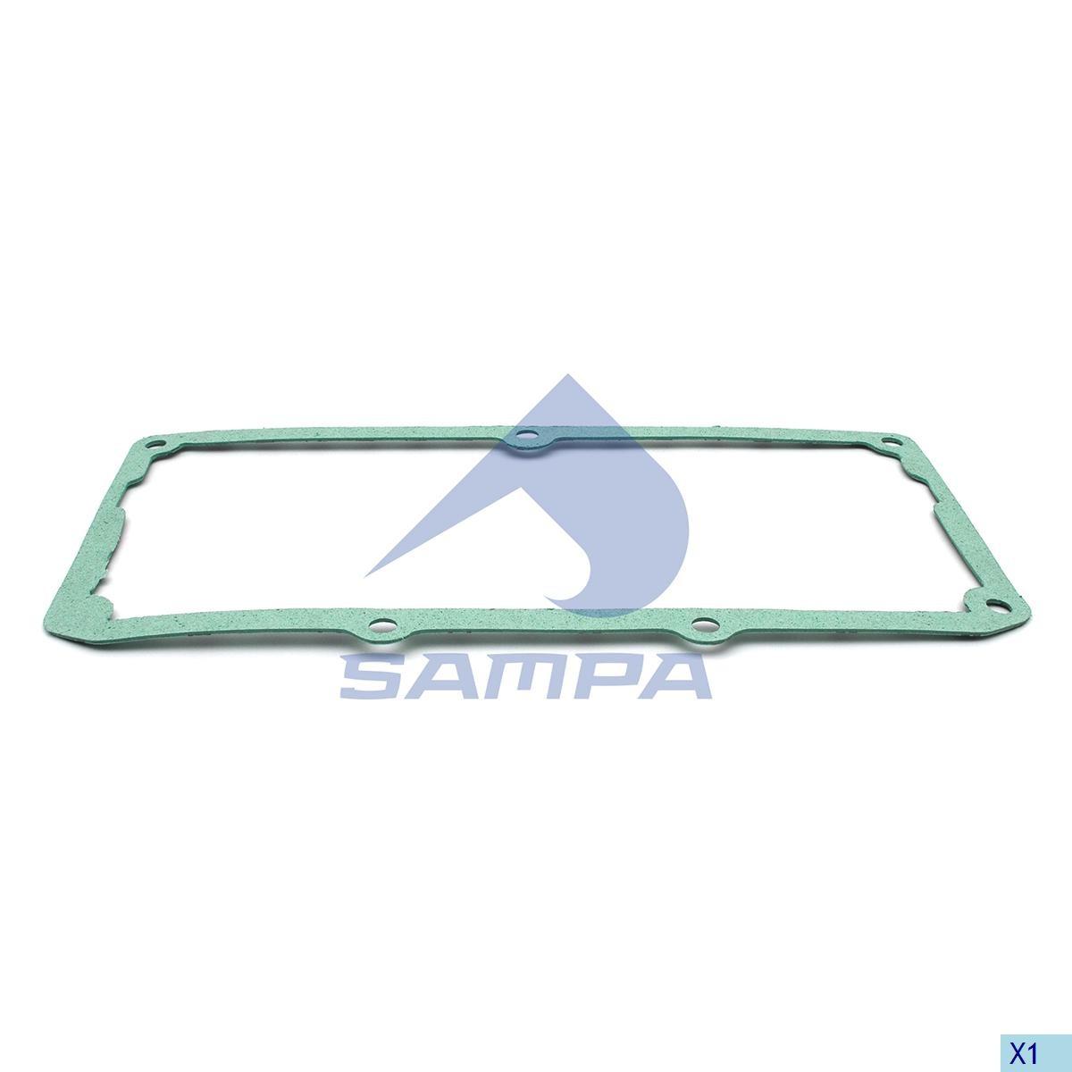 Прокладка клапанной крышки Scania DSC12, DC12  паранит photo