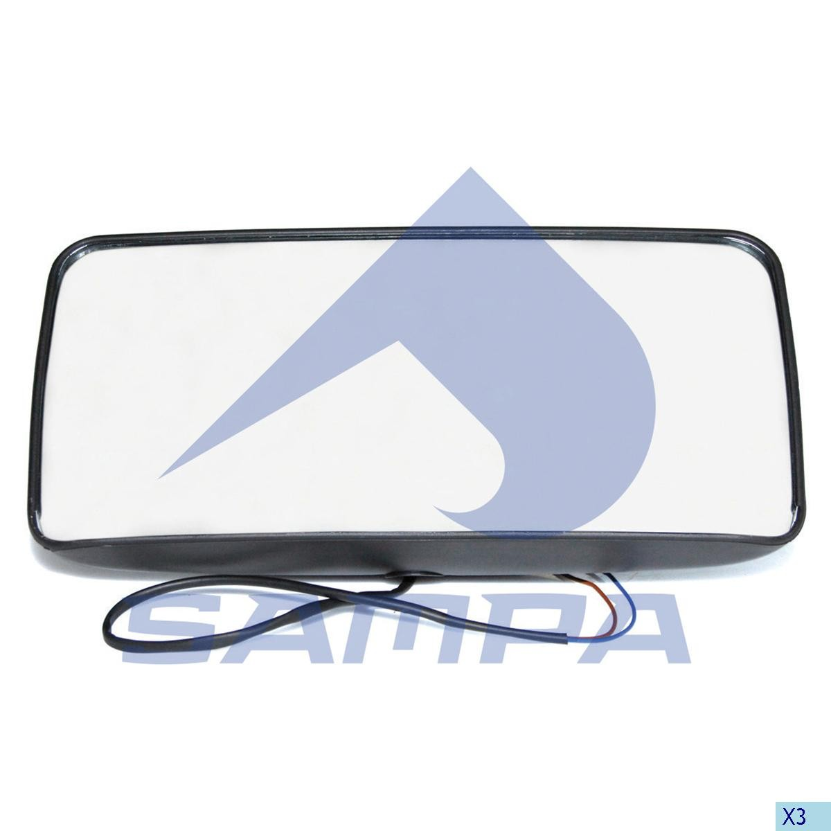 Зеркало наружное Renault Magnum/DAF 95XF (375x190) photo