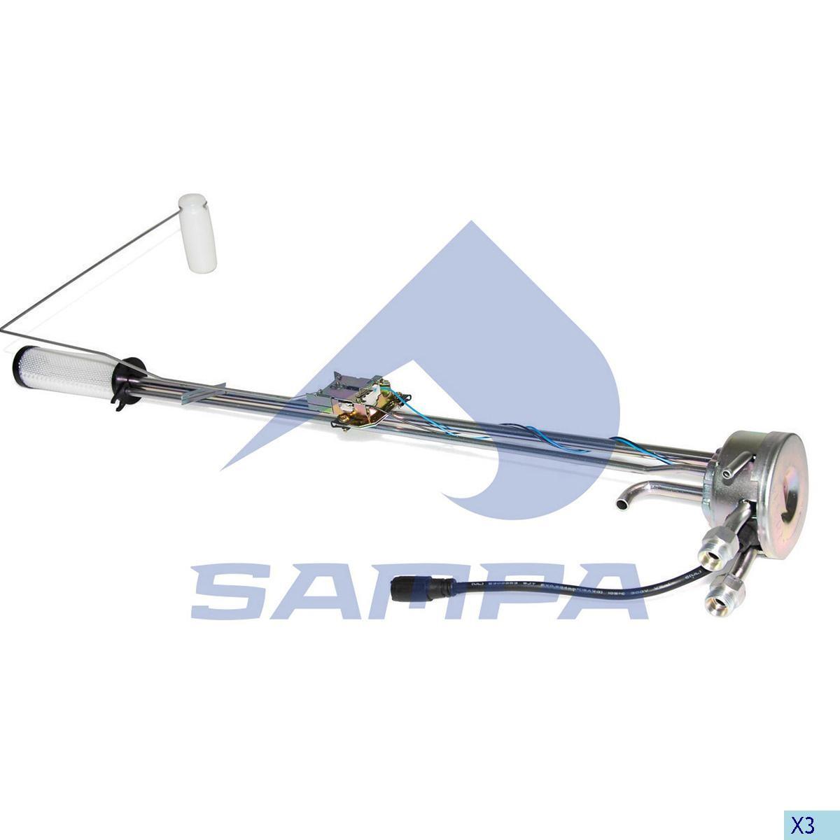 Топливоприемник Scania 4 Serii (63 cm) photo
