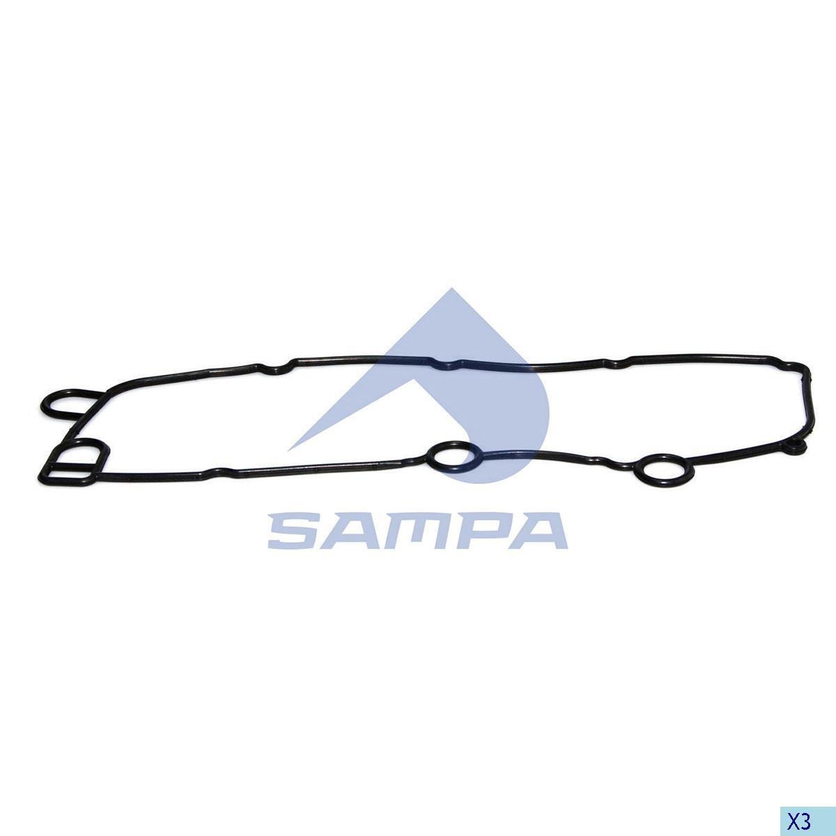 Прокладка теплообменника Scania 124 photo