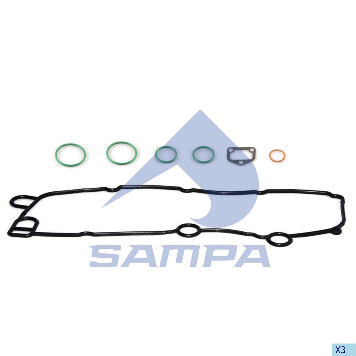Прокладка теплообменика Scania P/R/G (р/к) photo