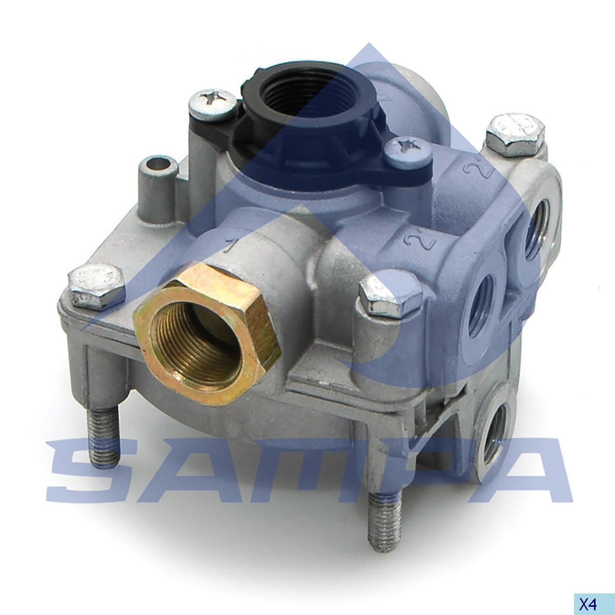 Ускорительный клапан Scania P/G/R/T (Wabco 9730110500) photo