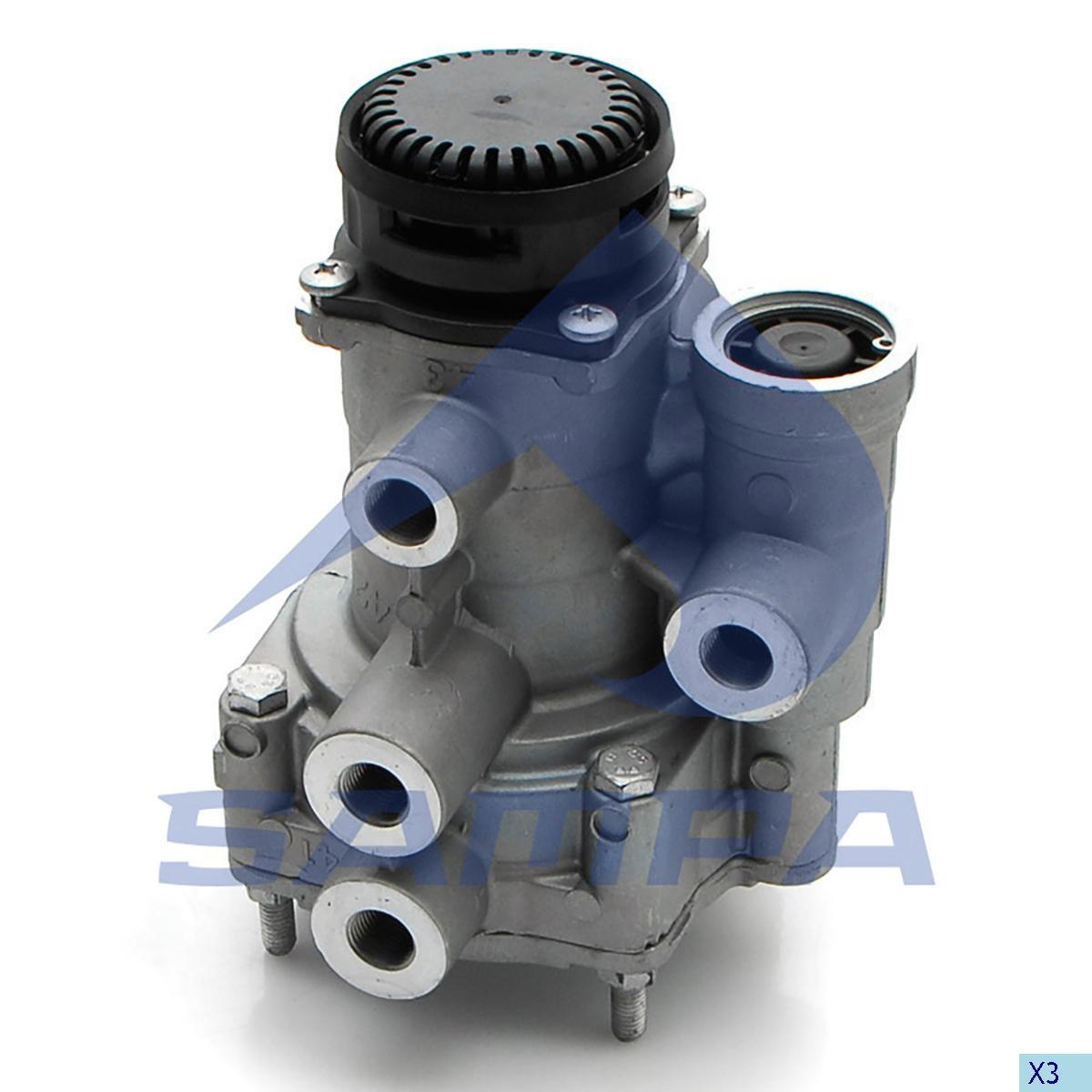 Ускорительный клапан Scania P/G/R/T DAF 95XF (Wabco 9730090100) photo
