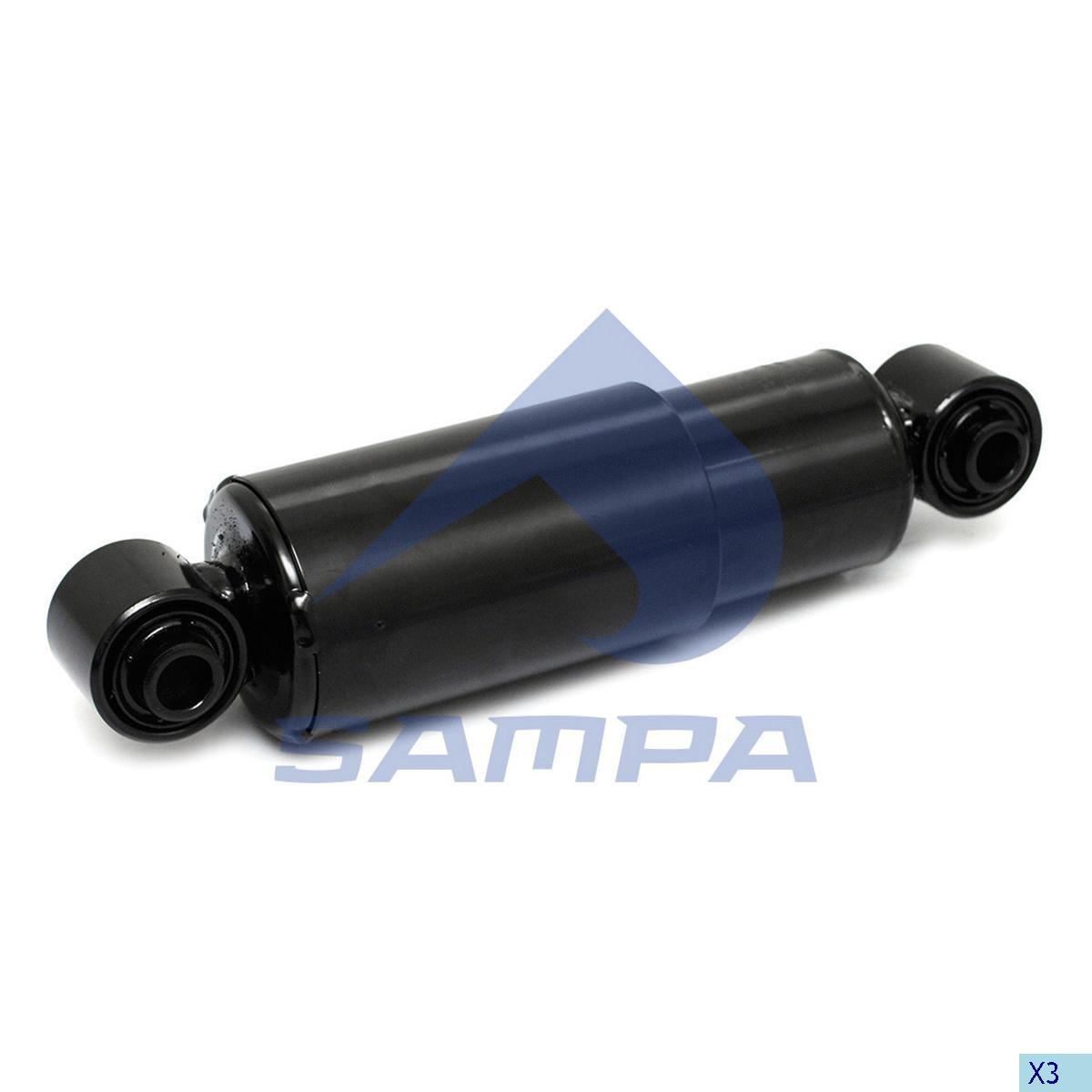 Аммортизатор оси (273-383) 16x16 (Schmitz) (Sachs) photo