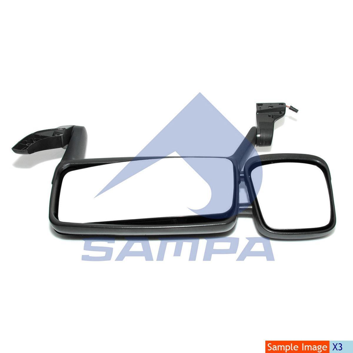 Зеркало наружное DAF LF 2006…(880х340) с под/мотором правое photo