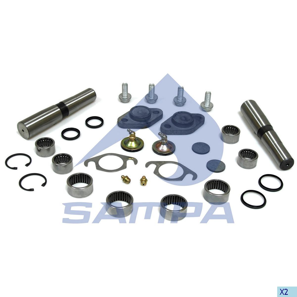 Set reparatie pivot Iveco photo