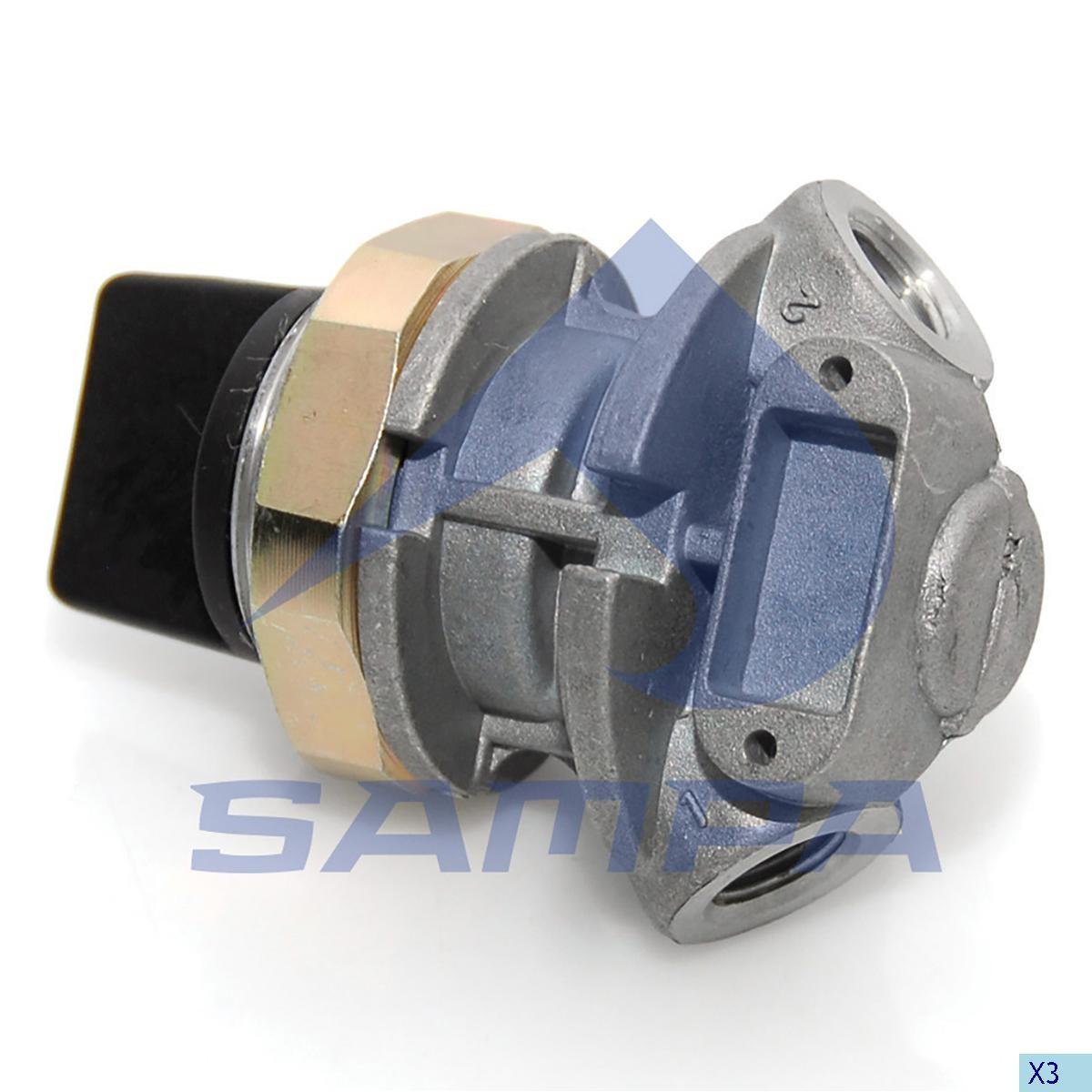 Магистральный клапан Wabco 4630360000 photo