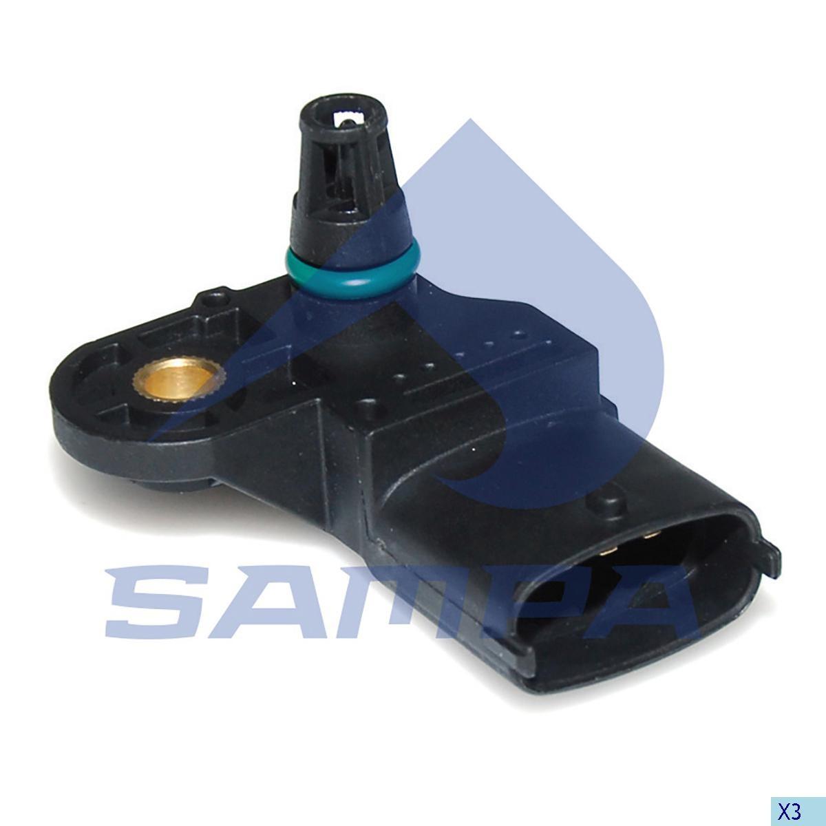 Sensor presiune aer Volvo FH12 Euro 5 (Bosch) photo