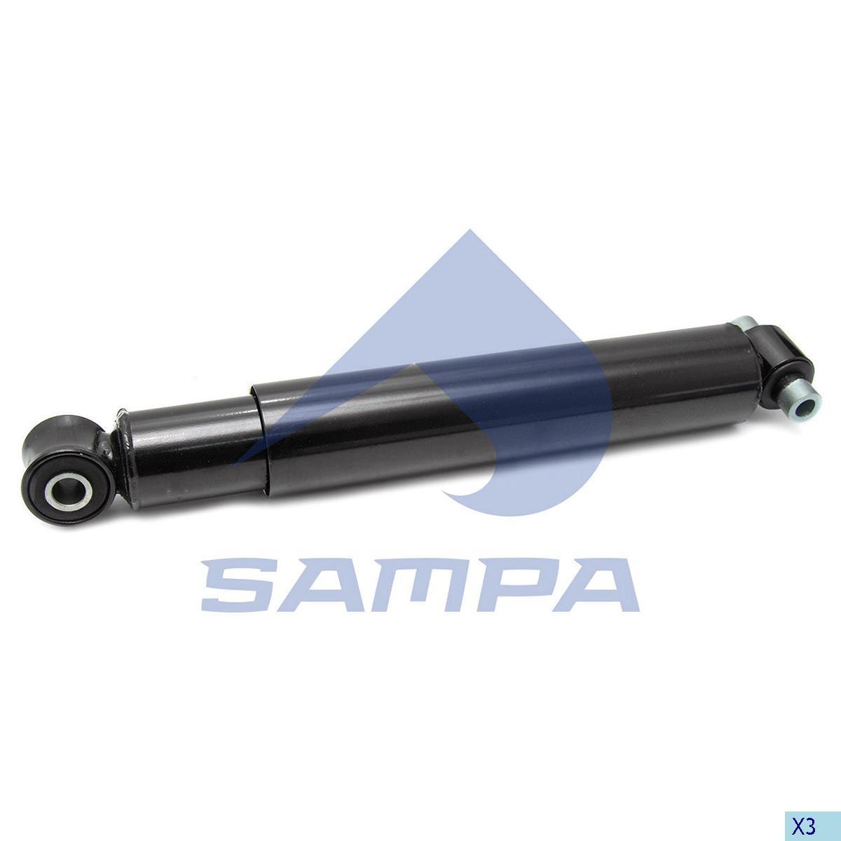 Аммортизатор задний Volvlo FH12 (503-845) 16x20              (890273) photo