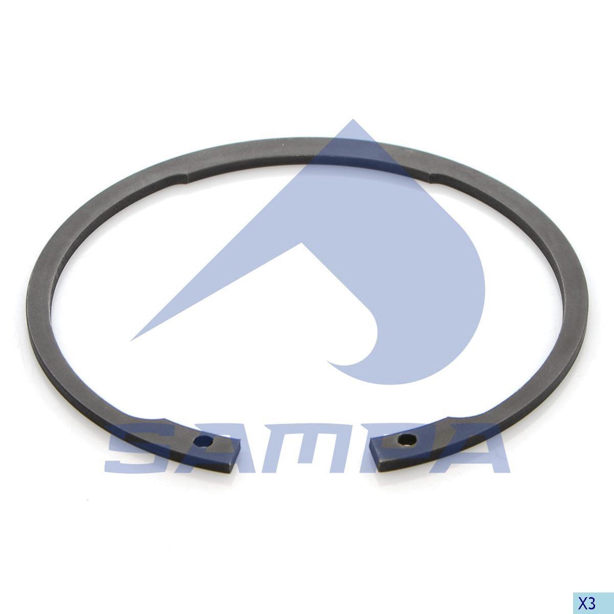 Стопорное кольцо оси BPW (4x158 внутрений) photo