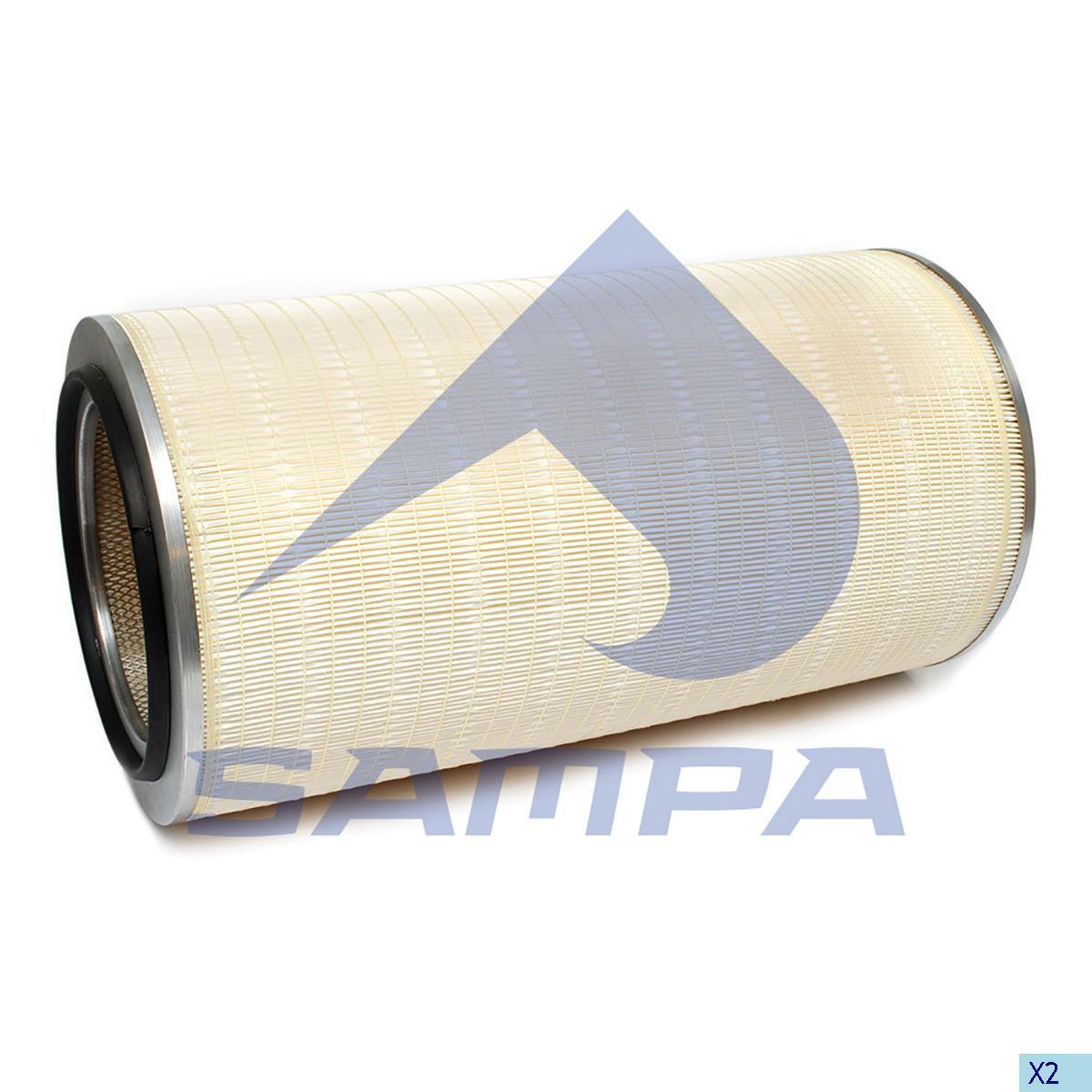Фильтр воздушный Iveco Traker (LX1255) photo