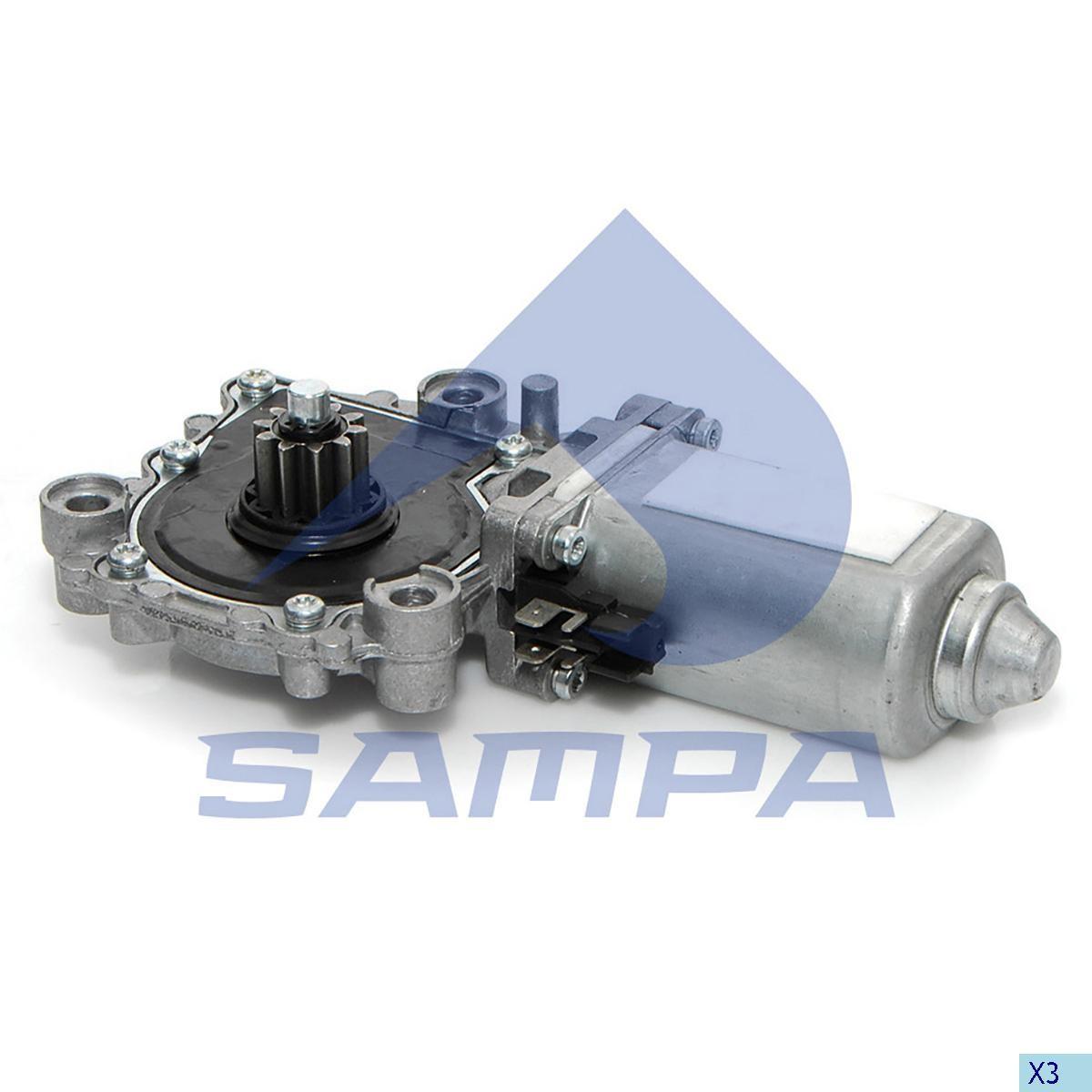 Електродвигатель стеклоподьемника Volvo FH12/13 правый photo