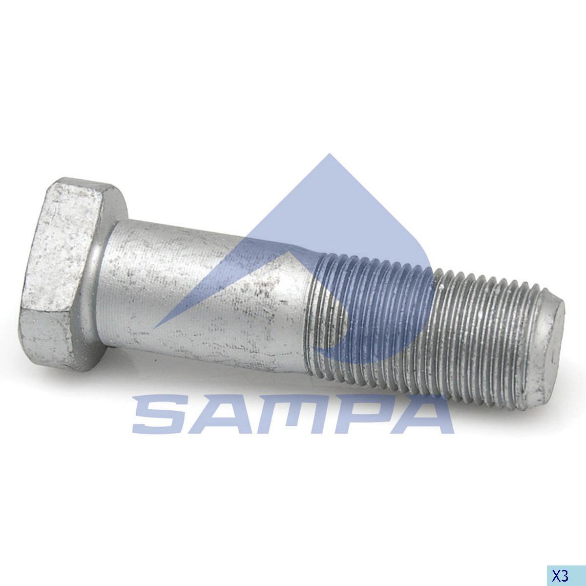 Bolt roata MB 814 М18х1,5 65мм photo
