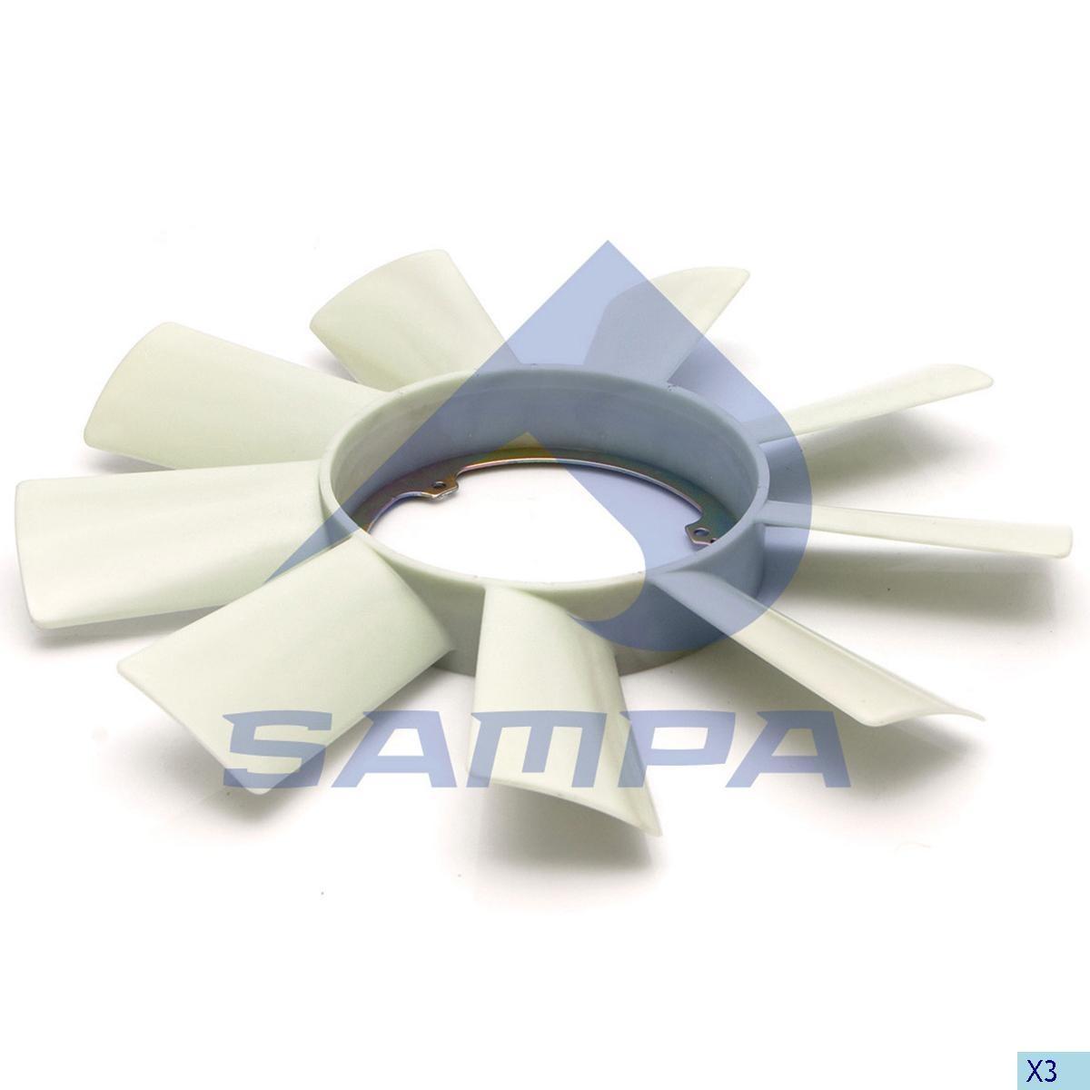 Вентилятор Sprinter D 460 mm photo