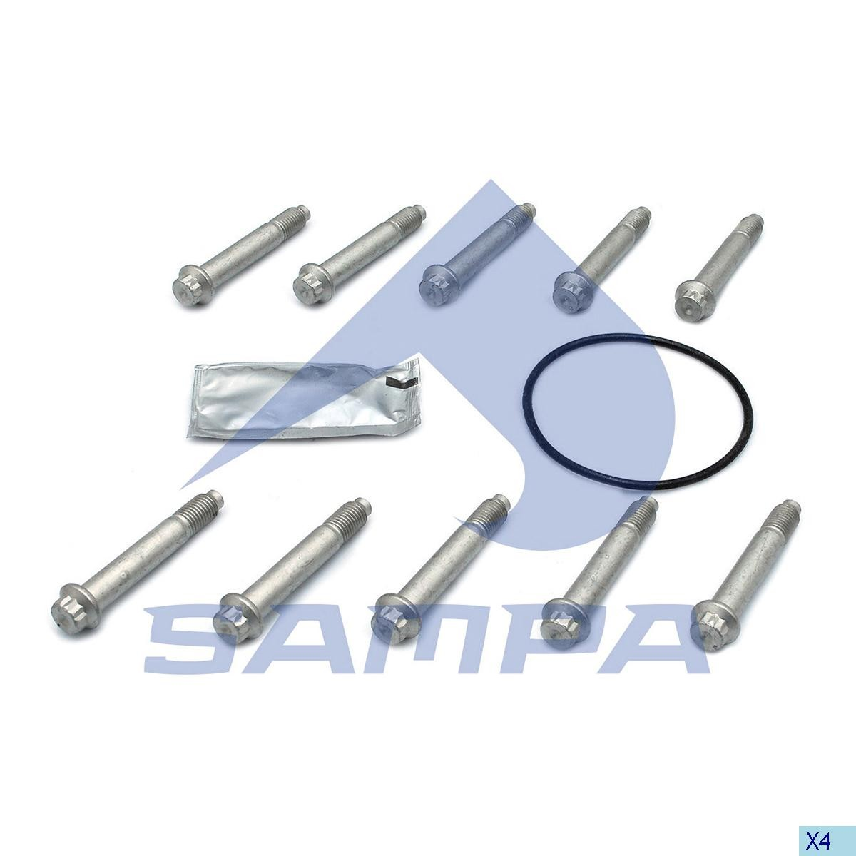 К/т болтов диска SAF М12х1,5 (К/Т НА ДИСК 10 шт) photo