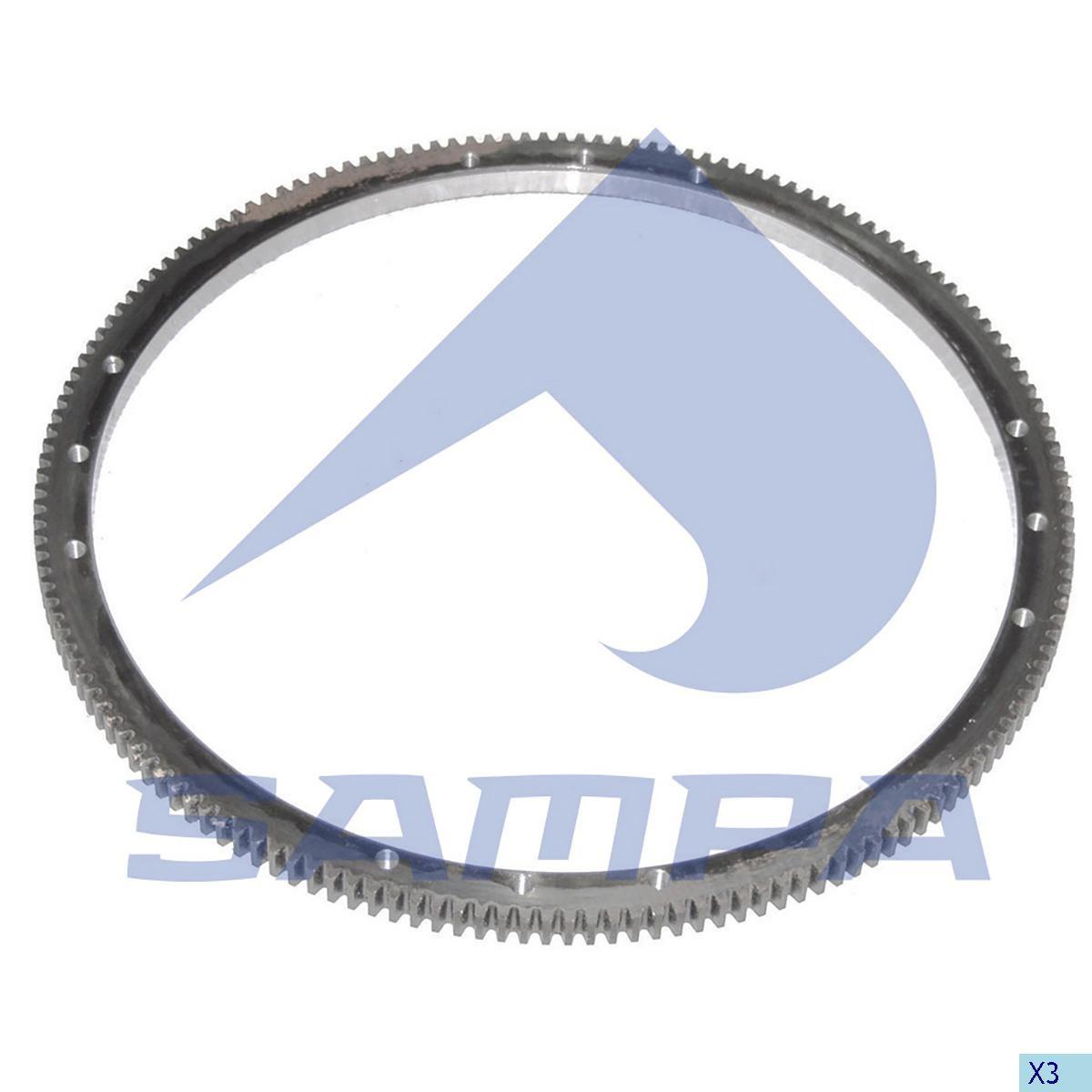 Венец маховика Actros 430/485.5 mm Z=160 (4x 3 c отверстями) photo