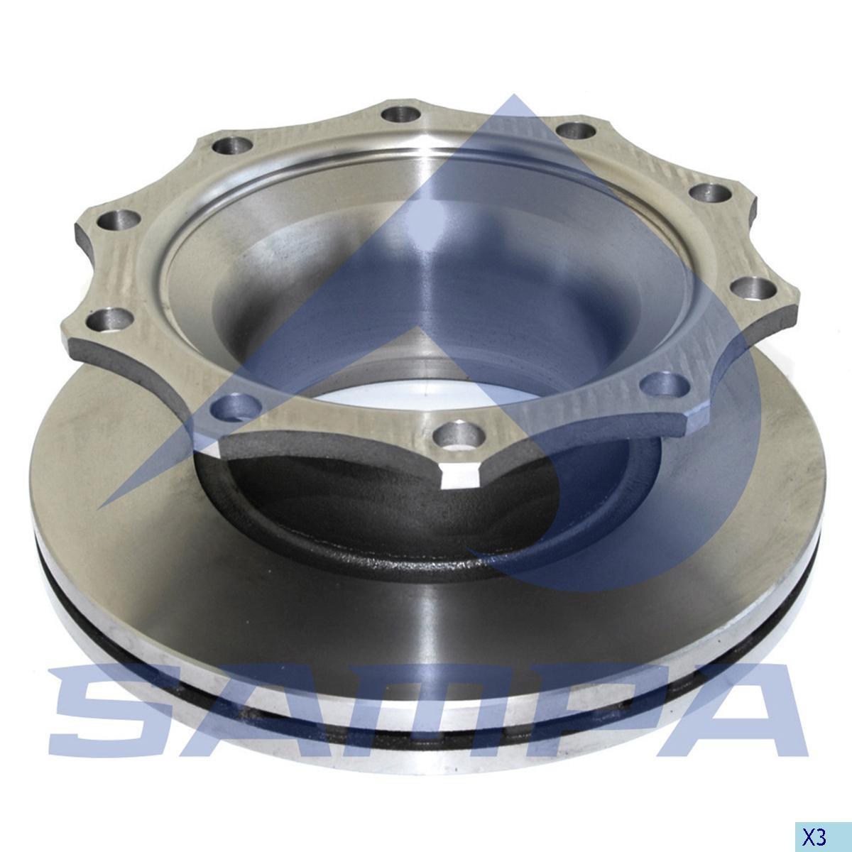 Disc frina SAF 430х45мм/10 photo