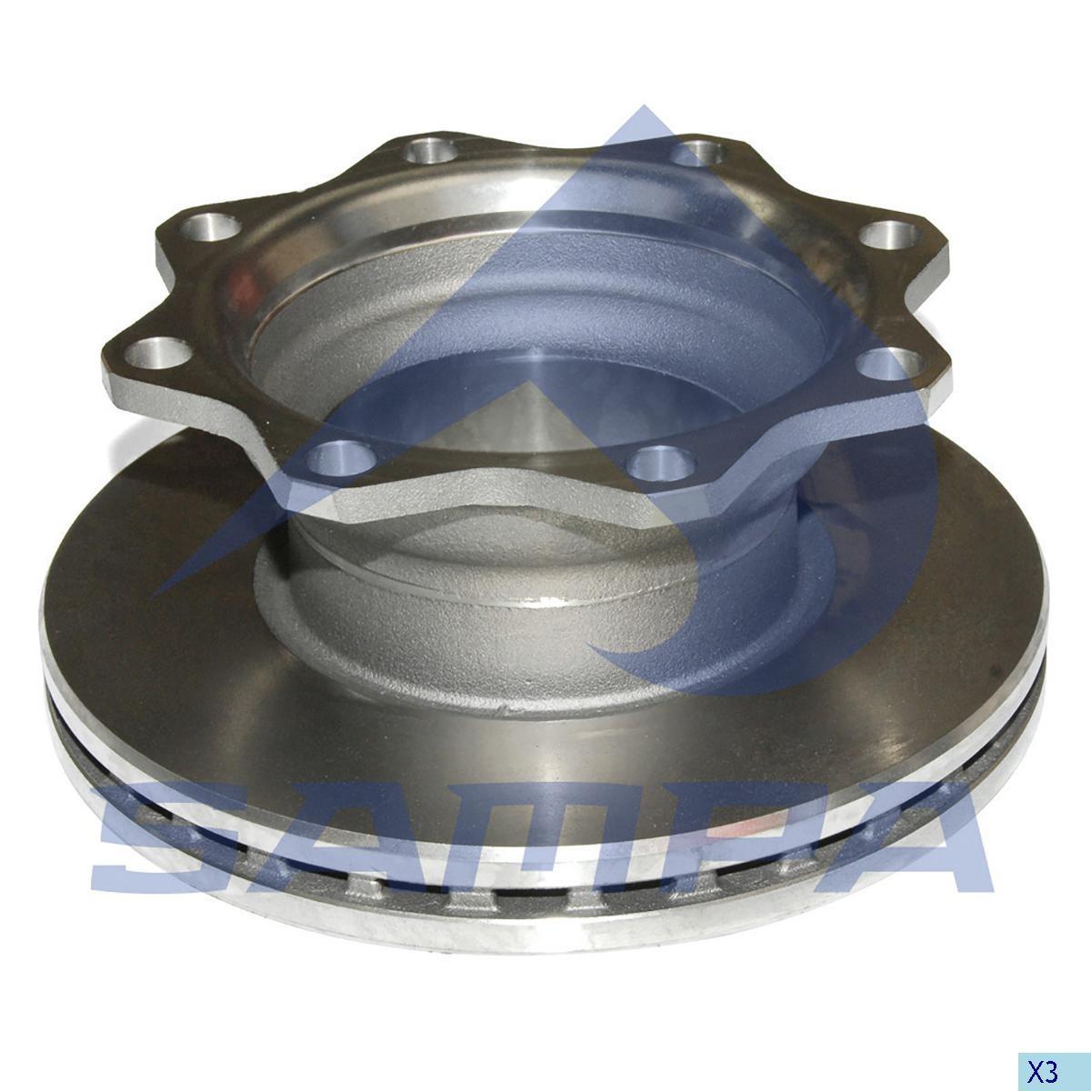 Disc frina SAF 377x45мм/8 photo
